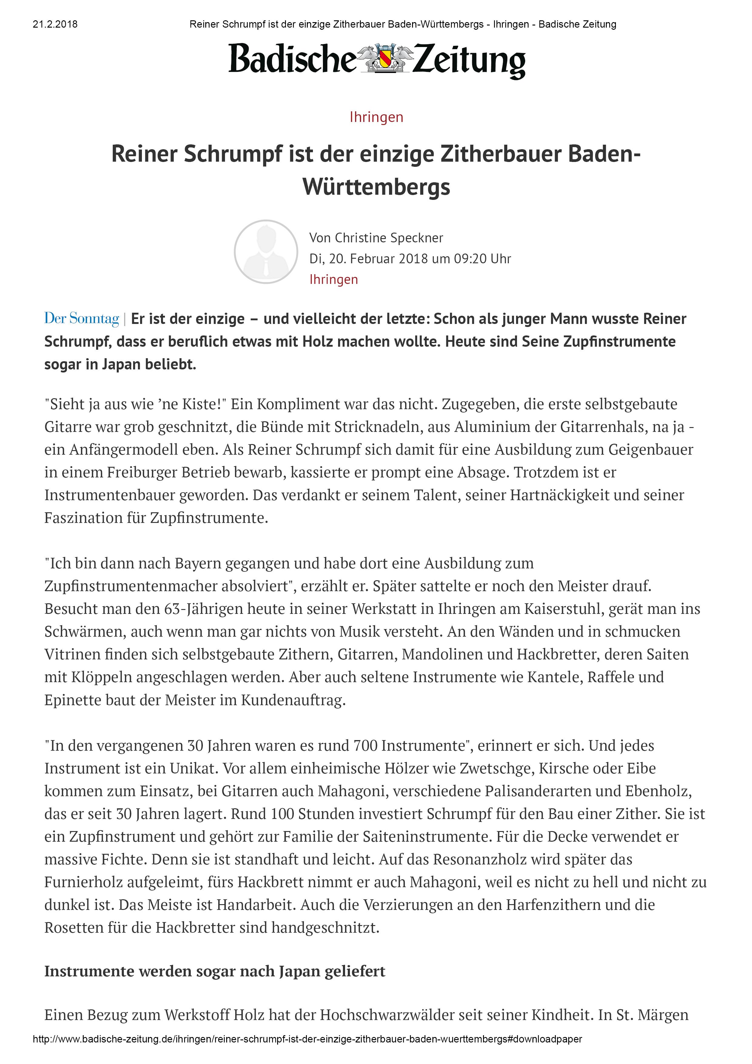 BZ_Reiner Schrumpf