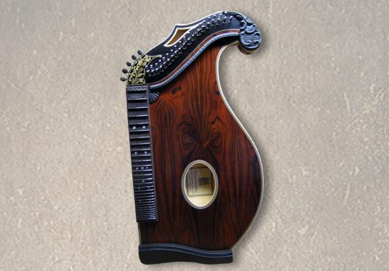 Harfenzithern, 42-saitig, Rio-Palisander