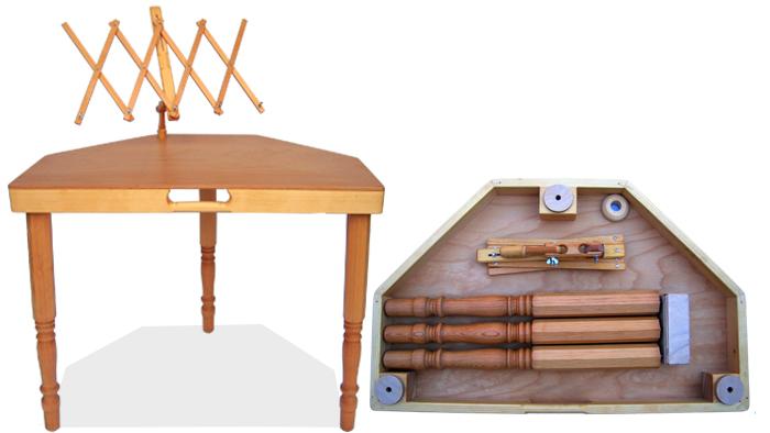 Hackbrett Tisch
